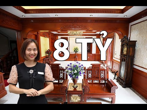 Khá Phá Biệt Thự Gỗ Gõ Đỏ Cực Sang - Biệt Thự Bà Ngọc Tại Bắc Ninh