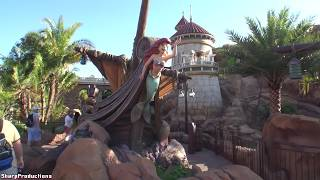 journey of the little mermaid on ride disney world s magic kingdom
