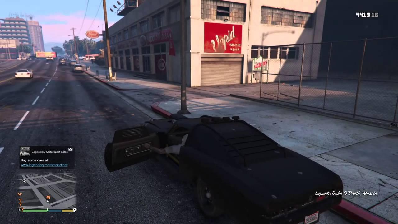 trevor garage location grand theft auto v ps4 youtube
