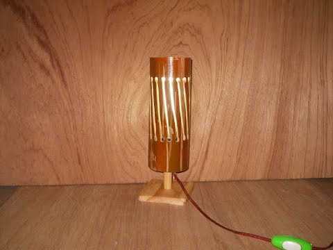 Cara Membuat Lampu Hias Meja Dari bambu YouTube