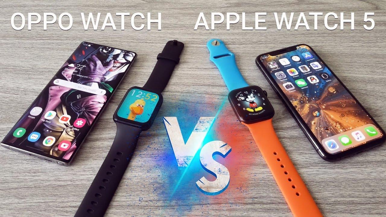 OPPO Watch VS Apple Watch 5 – Comparison