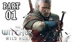 Let's Play The Witcher 3 Gameplay German Deutsch Walkthrough