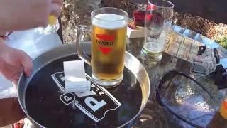 Bunker Bar in Banjole, Kroatien