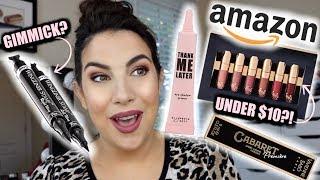 Testing BESTSELLING Amazon Makeup I've NEVER Heard Of