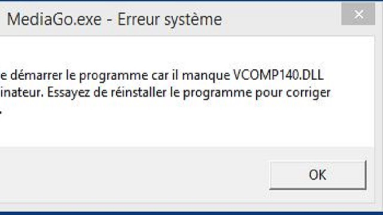 Missing VCOMP140 DLL errors in Windows 10 [SIMPLE FIX]