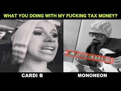 MonoNeon & Cardi B  -