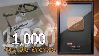 1000 Suscriptores + REGALO DE YOUTUBE (Botón de bronce)