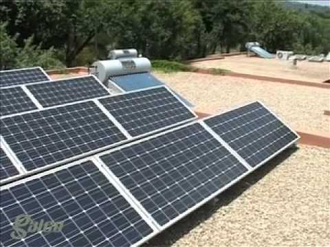 Galeo Solar - Suntech PV installation for Oostvallei