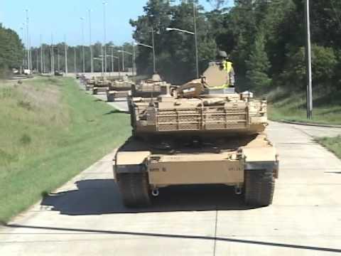 Armor Tanks Arrive At Benning