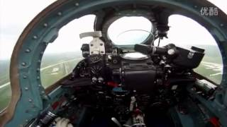 Mig 21 take off (cockpit view)