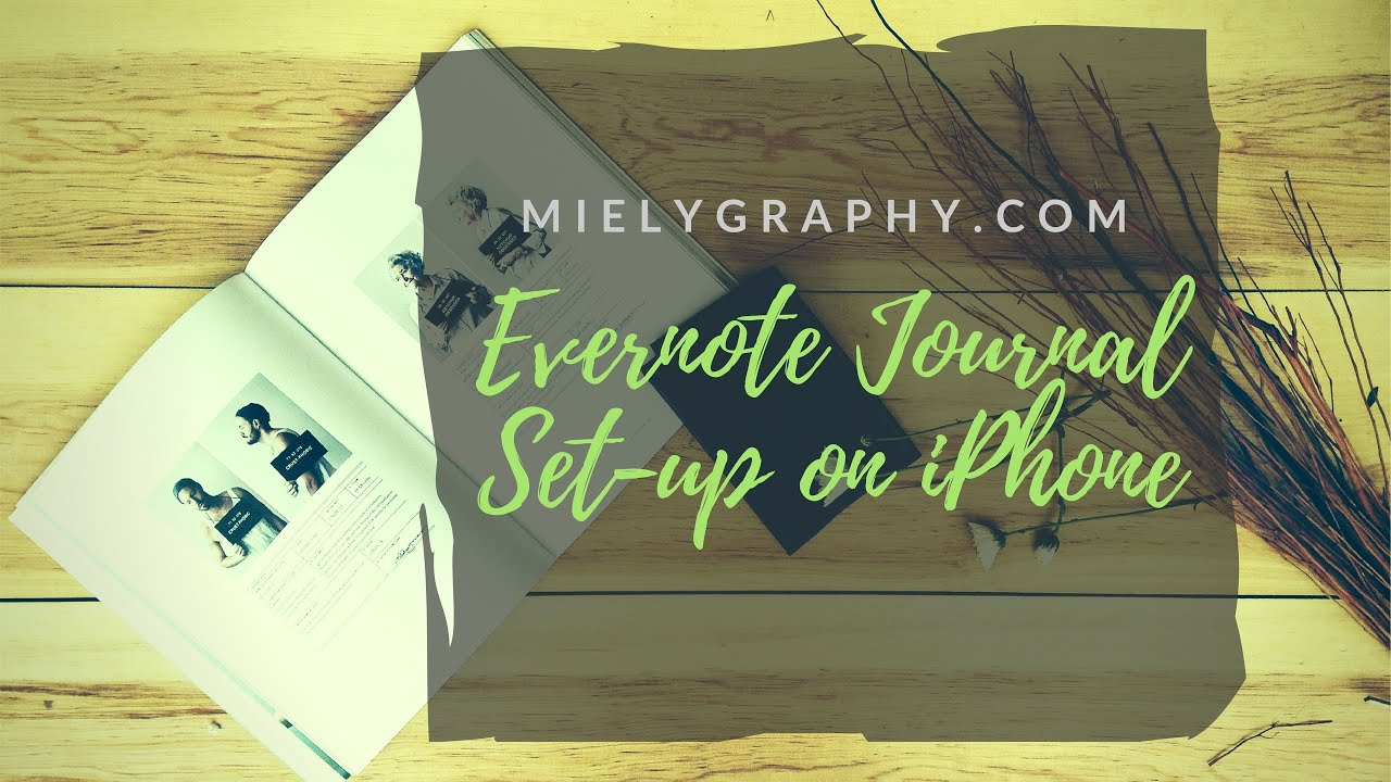 Bullet Journal Set Up With Evernote With Tutorials And Revamped