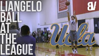 LiAngelo Ball Will Score on you REGARDLESS! | Full Highlights at theLEAGUE