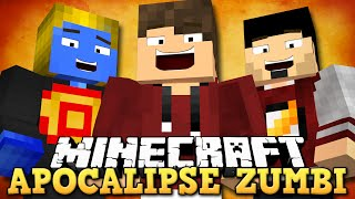 Minecraft: APOCALIPSE ZUMBI! (NOVO MINIGAME ÉPICO)