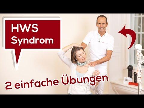 Halswirbelsäulen-Syndrom (HWS-Syndrom)   Ursache - 2 einfache Übungen   Liebscher & Bracht