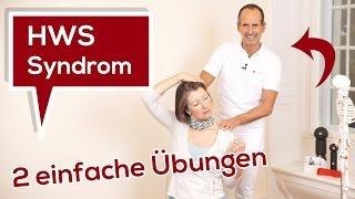 Halswirbelsäulen-Syndrom (HWS-Syndrom) | Ursache - 2 einfache Übungen | Liebscher & Bracht
