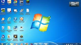 Como cambiar el fondo de pantalla de Windows 7 Starter (sin programas) 2014