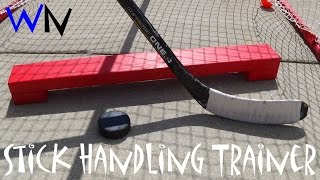 How To Make A Hockey Stick Handling Trainer