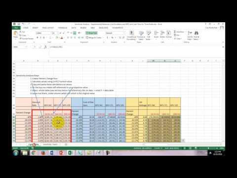 Energy Investment Analysis: Sensitivity Analysis
