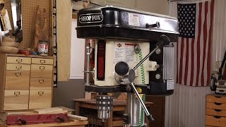 Drill Press Safety  |  Woodworkers Guild Of America