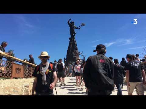 Hellfest 2019 : aux côtés de la statue 3D de Lemmy Kilmister, comme si vous étiez au festival
