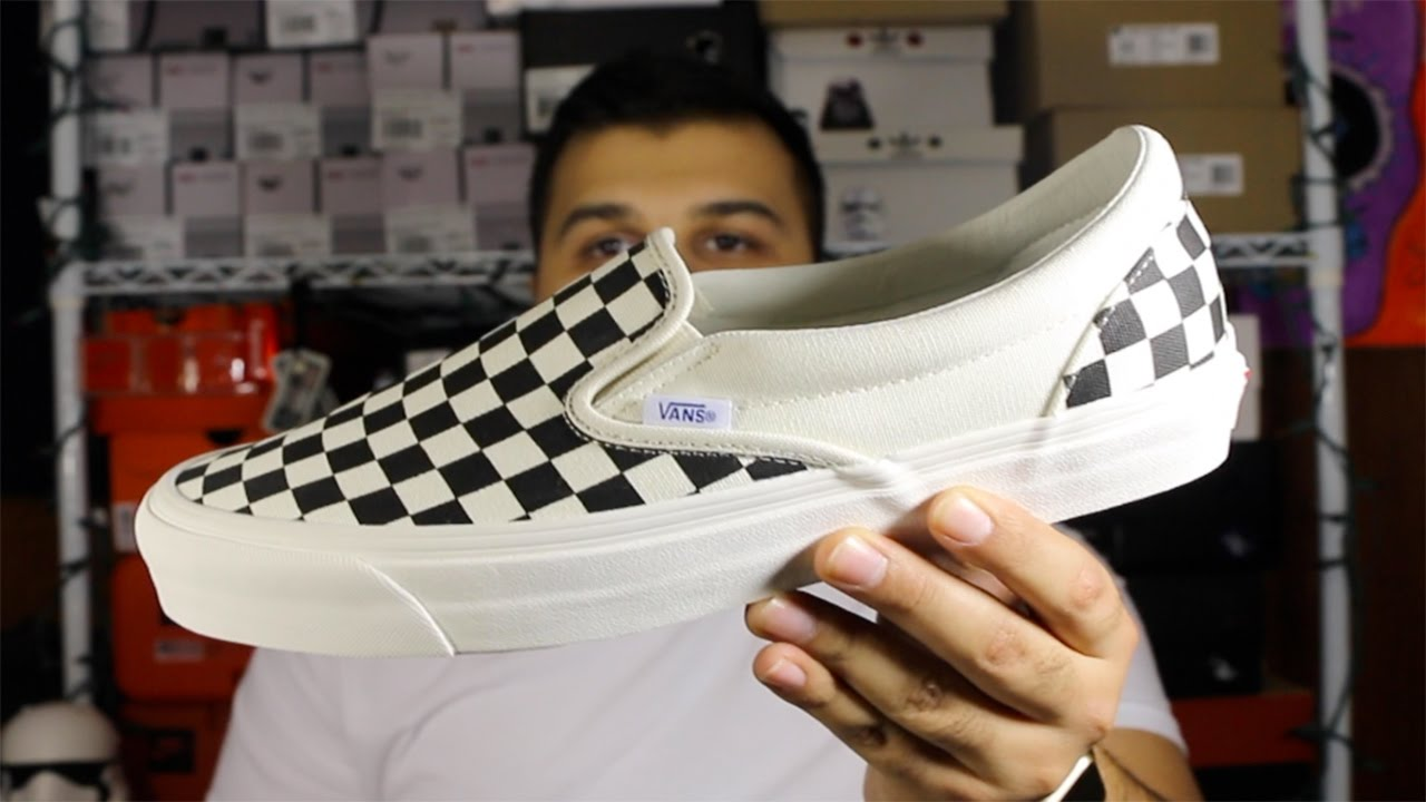 6284bd948b Vans Slip-On LX Checkerboard Review + On Foot! - YouTube