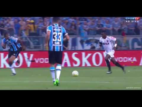 GOLAÇO Cazares Grêmio 1 X 1 Atlético MG Final Copa Do Brasil 07/ 12/ 2016