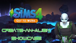 The Sims 4 Get To Work: Create-an-Alien Showcase
