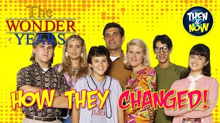 Wonder Years Cast Then And Now