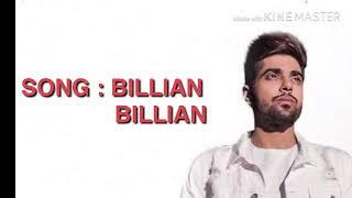Billian billian lyrics video | Guri | New punjabi song | 2018 |