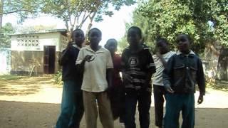Younger boys rap! Chilongola school, Zambia.