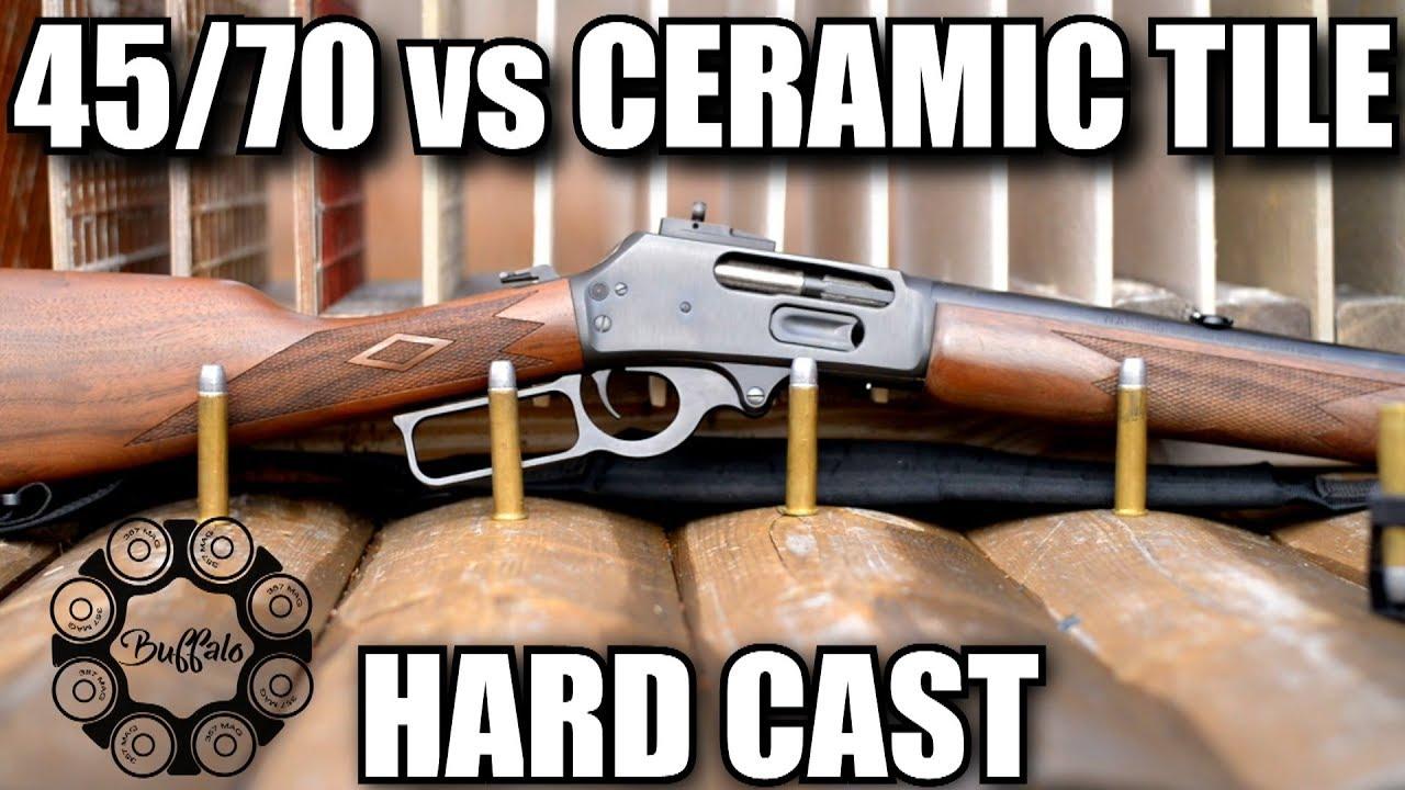 4570 hard cast vs ceramic tile youtube 4570 hard cast vs ceramic tile dailygadgetfo Choice Image
