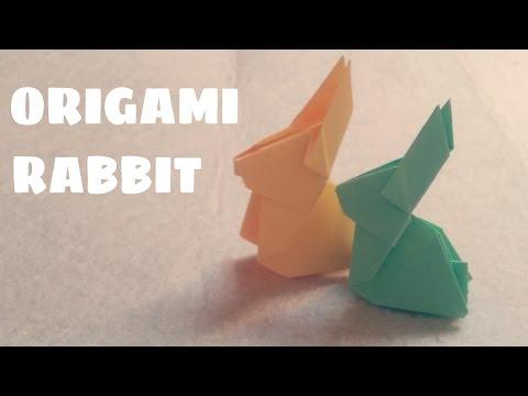 DIY - Cách gấp con thỏ vô cùng đáng yêu