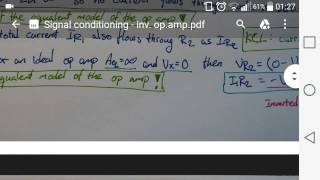 01. Signal Conditioning - Inv. op.amp.