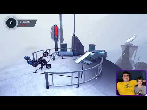 Trying out Trials Fusion   Free Game Download from xBox