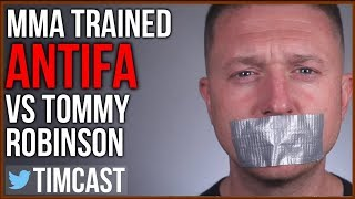 MMA Trained Antifa VS Tommy Robinson