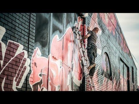 """""""A arte que é mais acessível é o grafite. Ela está em todo lugar.""""   BATE PAPO"""