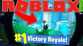 SURPRISE VICTORY SNIPE - FORTNITE IN ROBLOX (10 Wins) #11