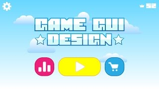 Adobe illustrator tutorial: Mobile Game GUi Design