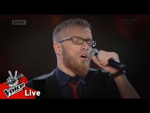Δαυίδ Καναβός - Θεός αν είναι   2o Live   The Voice of Greece