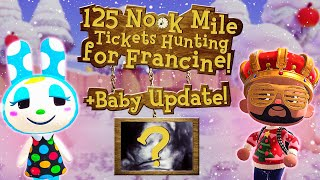 Villager Hunt for Francine + Baby Update! | Animal Crossing New Horizons