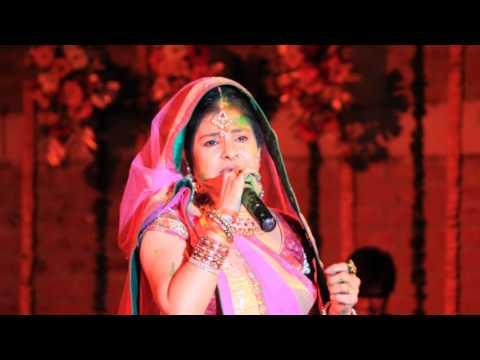 Rangi sari gulabi chunariya dadra by Malini Awasthi