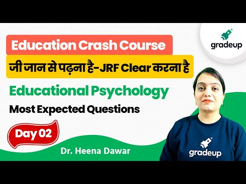 Theories of Intelligence | Education | UGC NET 2021 Exam | Gradeup | Dr. Heena Dawar