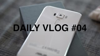 DAILY VLOG #04 - Unbox & Review ASUS Zenfone 3 Camera Day 01 | A6300