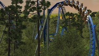 Wild Eagle - Dollywood (HD) RCT3 Reconstruction II Best Reconstruction on Youtube!