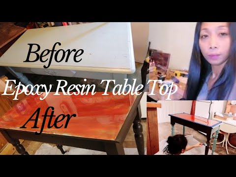 What Epoxy can do, Table Top Epoxy Resin