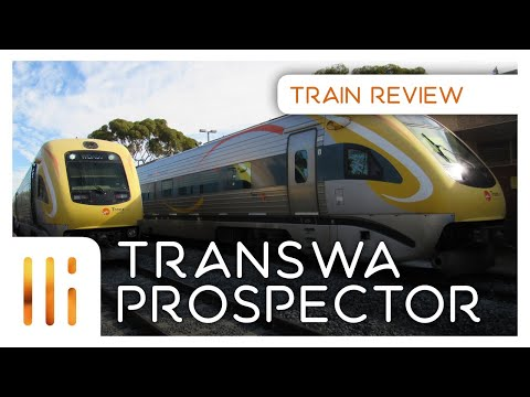 TransWA Prospector | Perth - Kalgoorlie Train Review