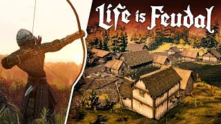 Life Is Feudal with Tom #1 - A Wolf Steals Our Gold