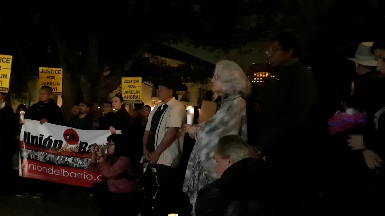 vigil for jakelin caal maquin 2 youtube
