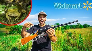 bullfrog-hunting-with-walmart-s-cheapest-bb-gun-catch-clean-cook