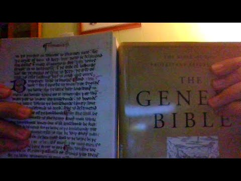 Wycliffe Bible and Geneva Bible  Histories.